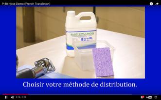Comment Assembler Les Tuyaux Flexibles et Joints d'Étanchéité Avec le Lubrifiant à Caoutchouc Temporaire P-80®