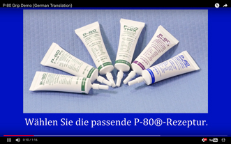 Wie Sie Griffe Mit Temporären P-80® Gummimontage Schmiermittel Ambringen
