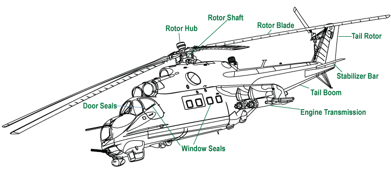 Helicopter    BW       Diagram     International Products Corporation