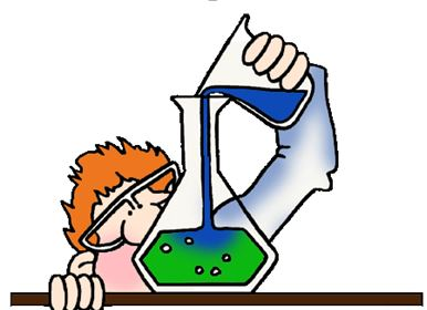 SCIENTIST IN LAB MIXING