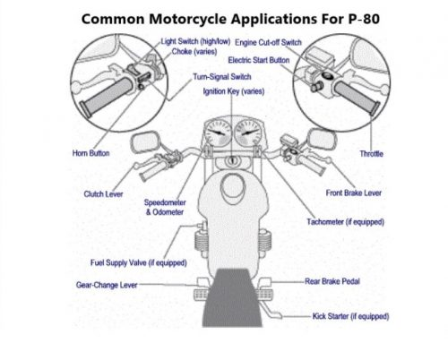 motorcycle parts with P80 title cropped